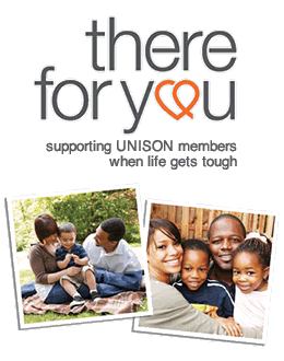 Supporting UNISON members when life gets tough